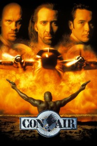 "Poster for the movie ""Con Air"""